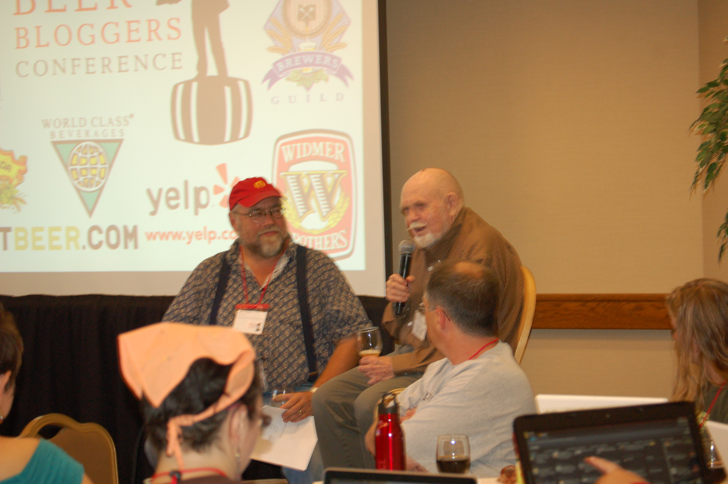 Beer Bloggers Conference - Fred Eckhardt and John Foyston