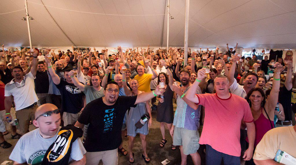 Crowd at the Southern New Hampshire Brewfest