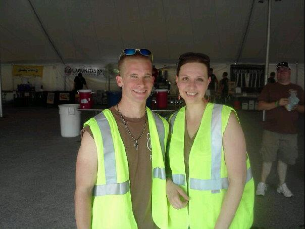 Mark and Lisa at the Southern New Hampshire Brewfest
