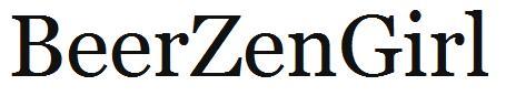 Beer Zen Girl Logo