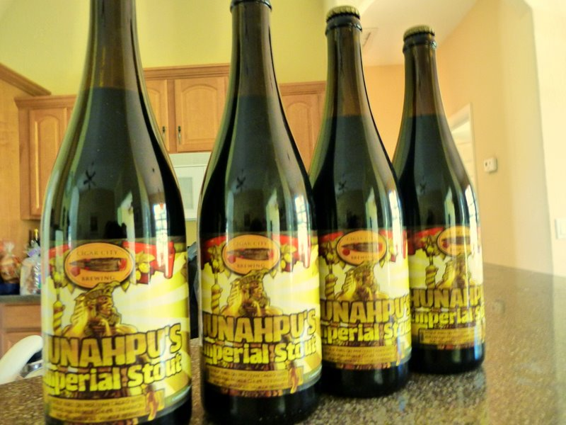 Cigar City Hanahpu in bottles