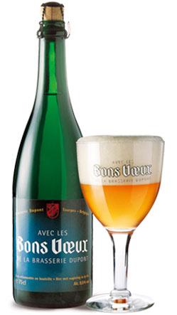 Avec Les Bons Voeux Bottle and Glass