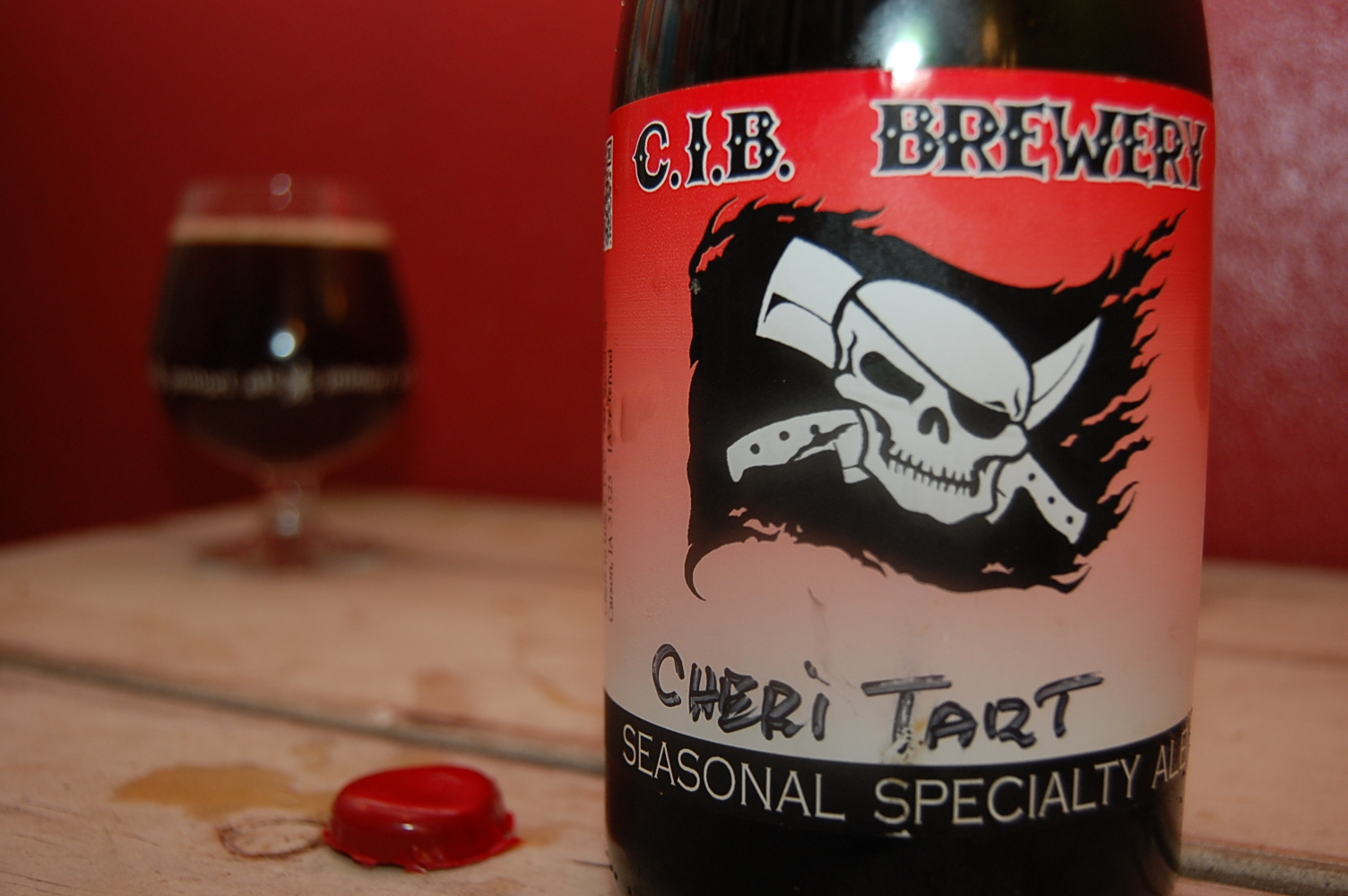 cib cheri tart 2012 Beer Advent Calendar