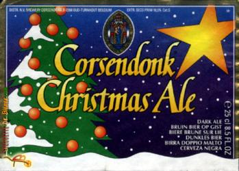 corsendonk christmas ale label 2012 Beer Advent Calendar