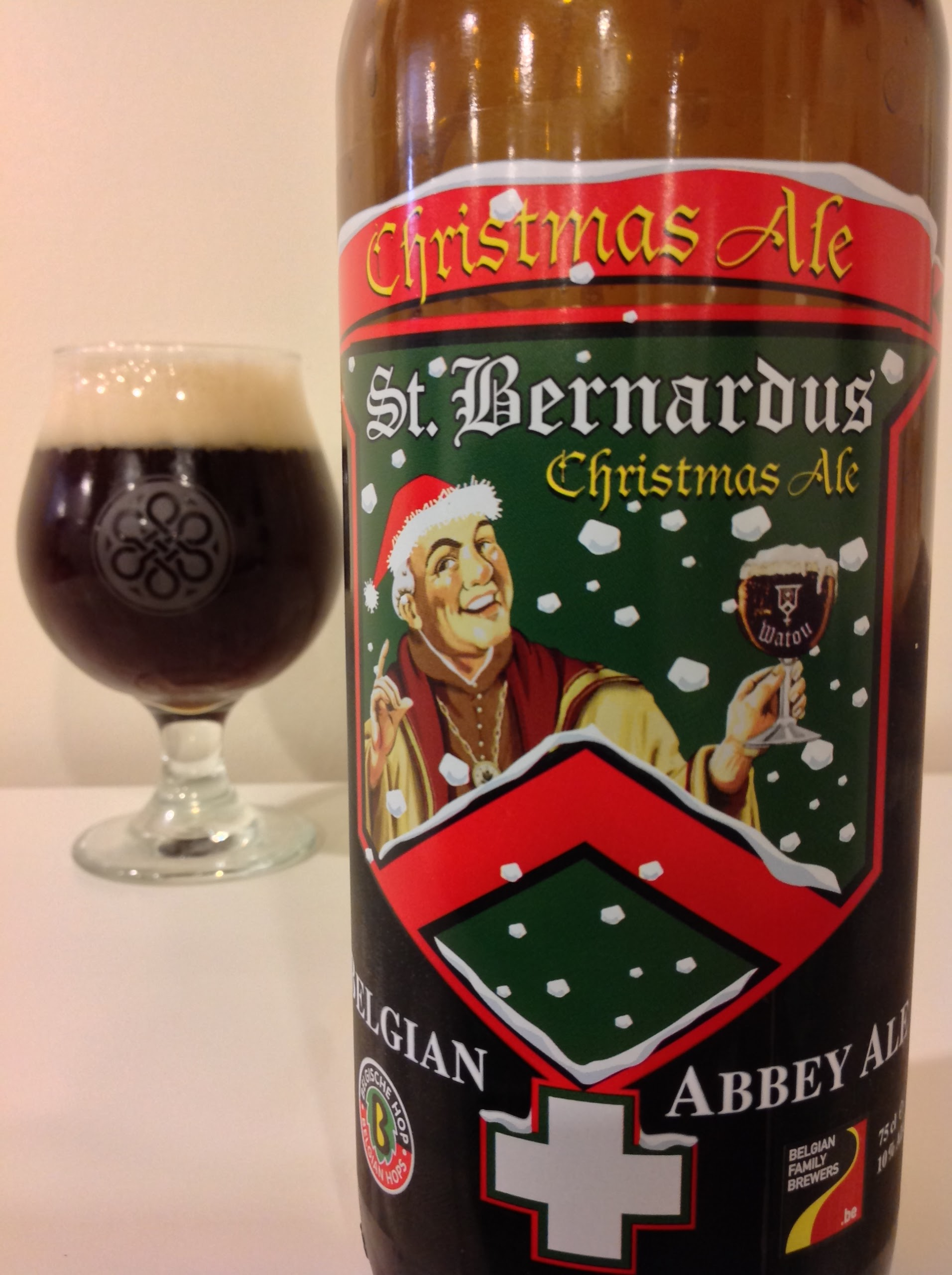 Beer Advent Calendar – Day 8: St Bernardus Christmas presented by ...