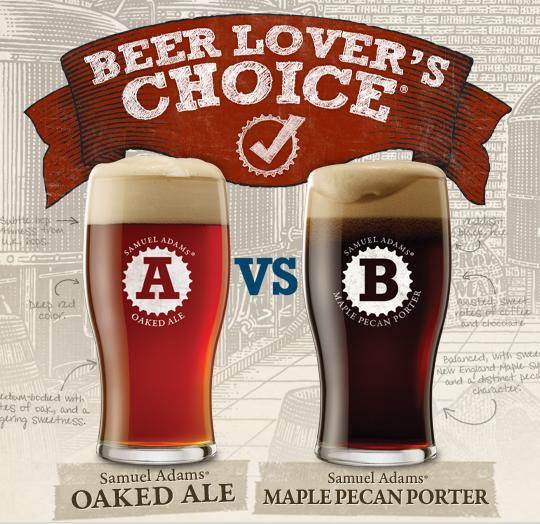 Sam Adams Beer Lovers Choice