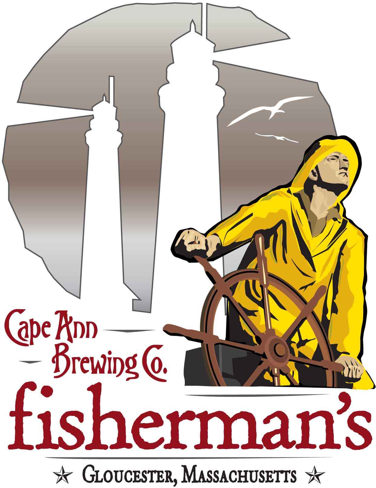 Cape Ann Brewing - Fisherman
