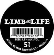 Sierra Nevada and Dogfish head Collaboration - Limb and Life