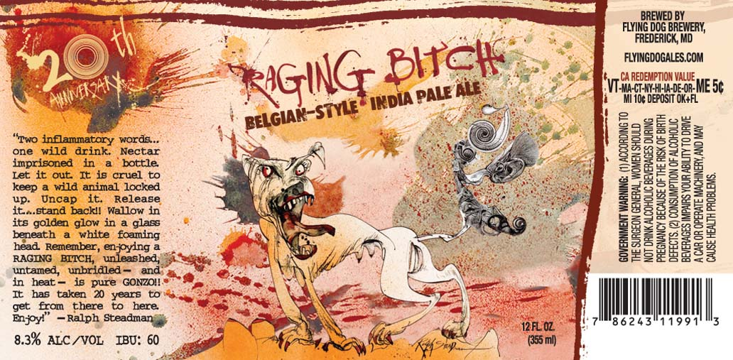 Flying Dog Raging Bitch Ale