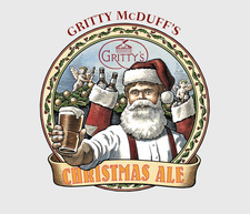 Gritty McDuff's Christmas Ale Label