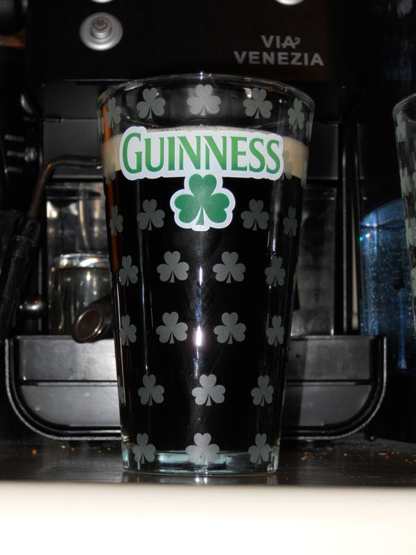 Glass of Tasty Guinness