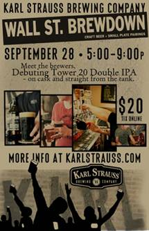 Karl Strauss - Wall Streat Brewdown