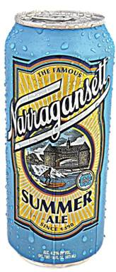 Narragansett Summer Ale - in a can