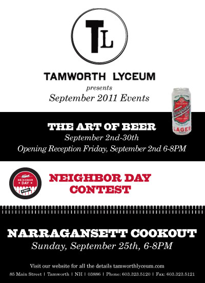 Narragansett Tamworth Lyceum Event