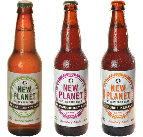 New Planet Beer Bottles