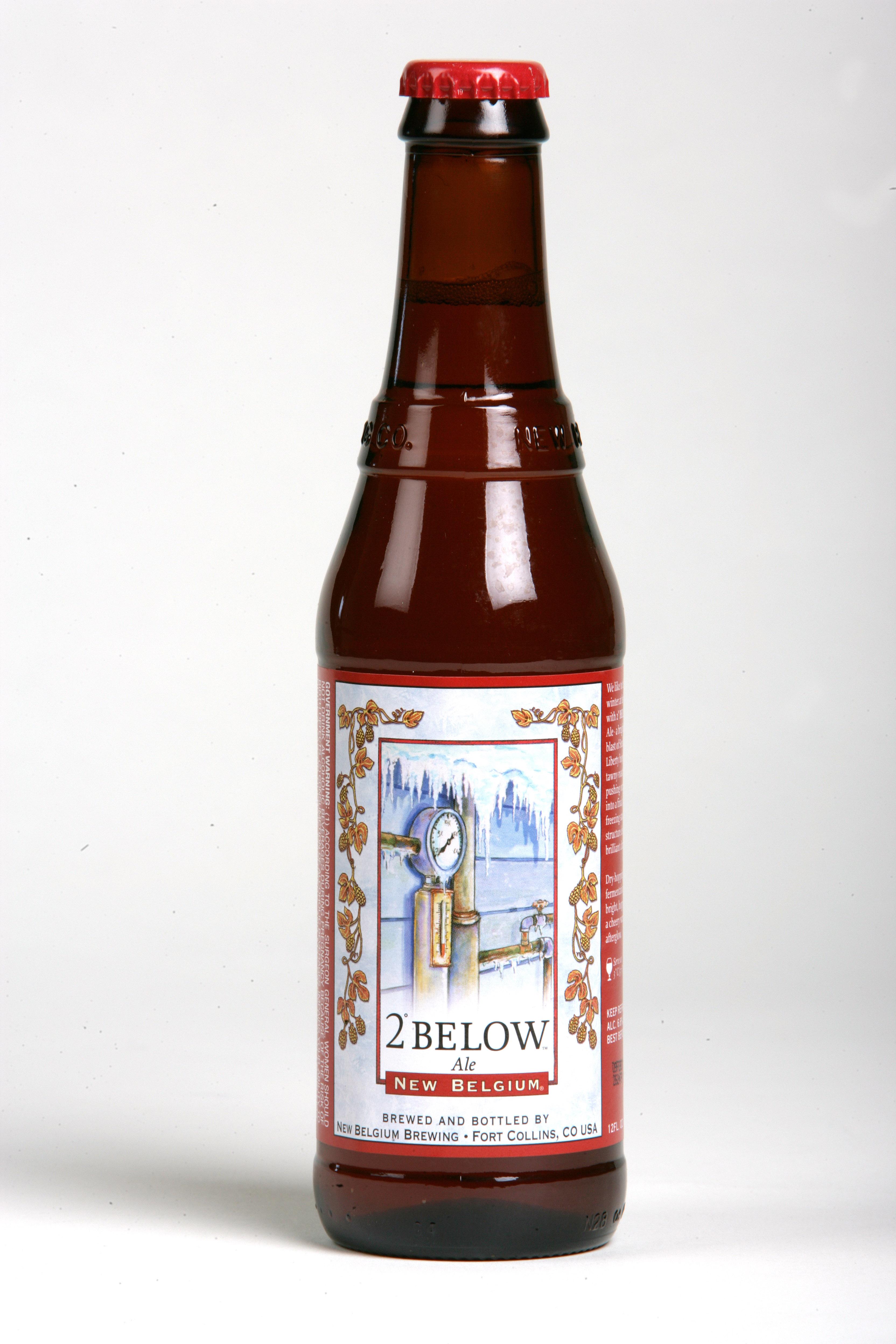 New Belgium - 2 Degree Below