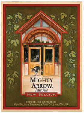 New Belgium Mighty Arrow Logo