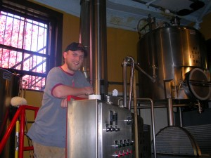 Tyler Jones from Portmouth Brewery