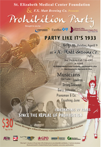 Saranac 2nd Annual Prohibition Party