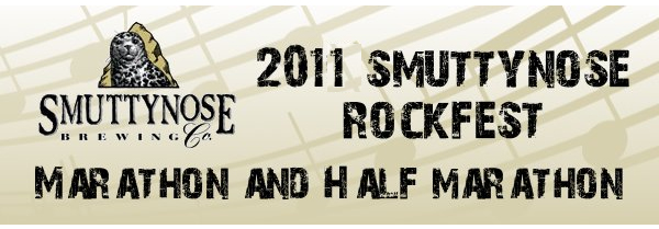 2011 Smuttynose Rockfest - Marathon and Half Marathon