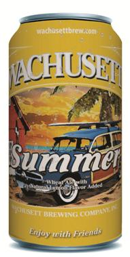 Wachusett Summer Ale in a Can