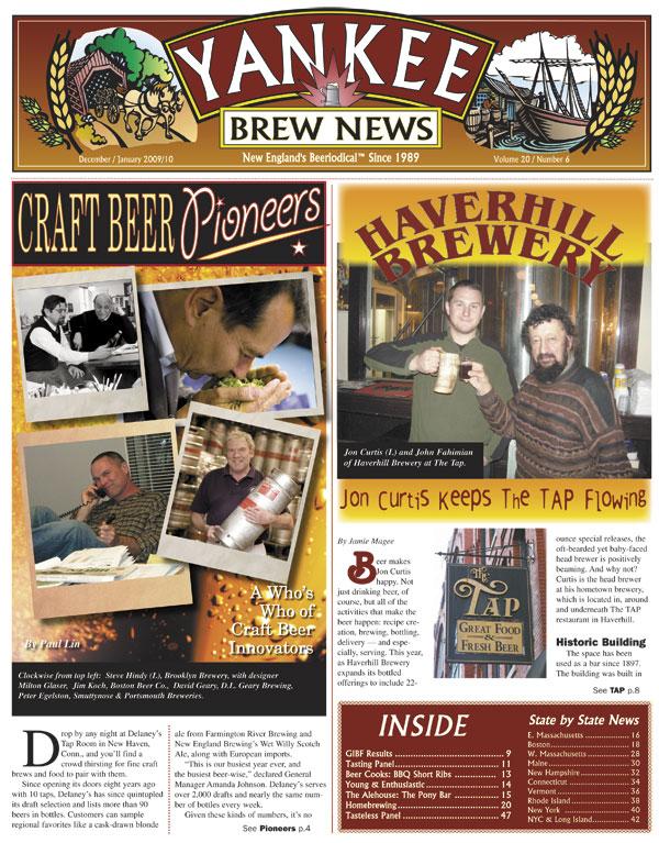Yankee Brewing News