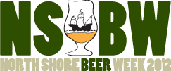 2012 North Shore Beer Week Logo